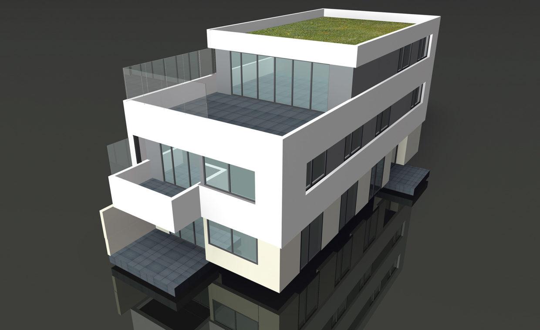 Imagebroschüre Marketing Böblinger Baugesellschaft Exposé STZ Agentur Reutlingen für Digitale Medien, Design, Marketing