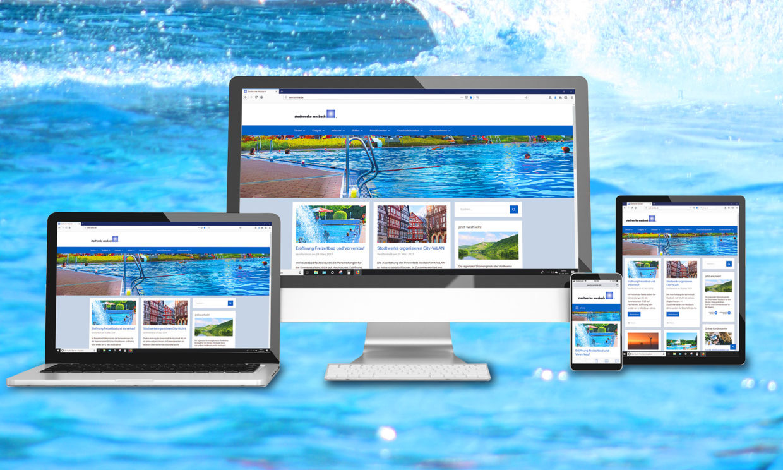 Website STZ Agentur Reutlingen für Digitale Medien, Design, Marketing