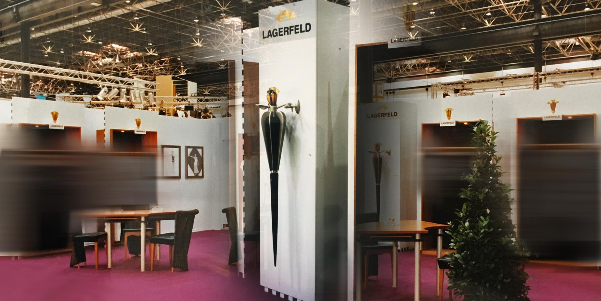 Karl Lagerfeld Modemesse Innenansicht
