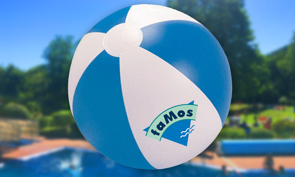 faMos Freibad Corporate Design Merchandising